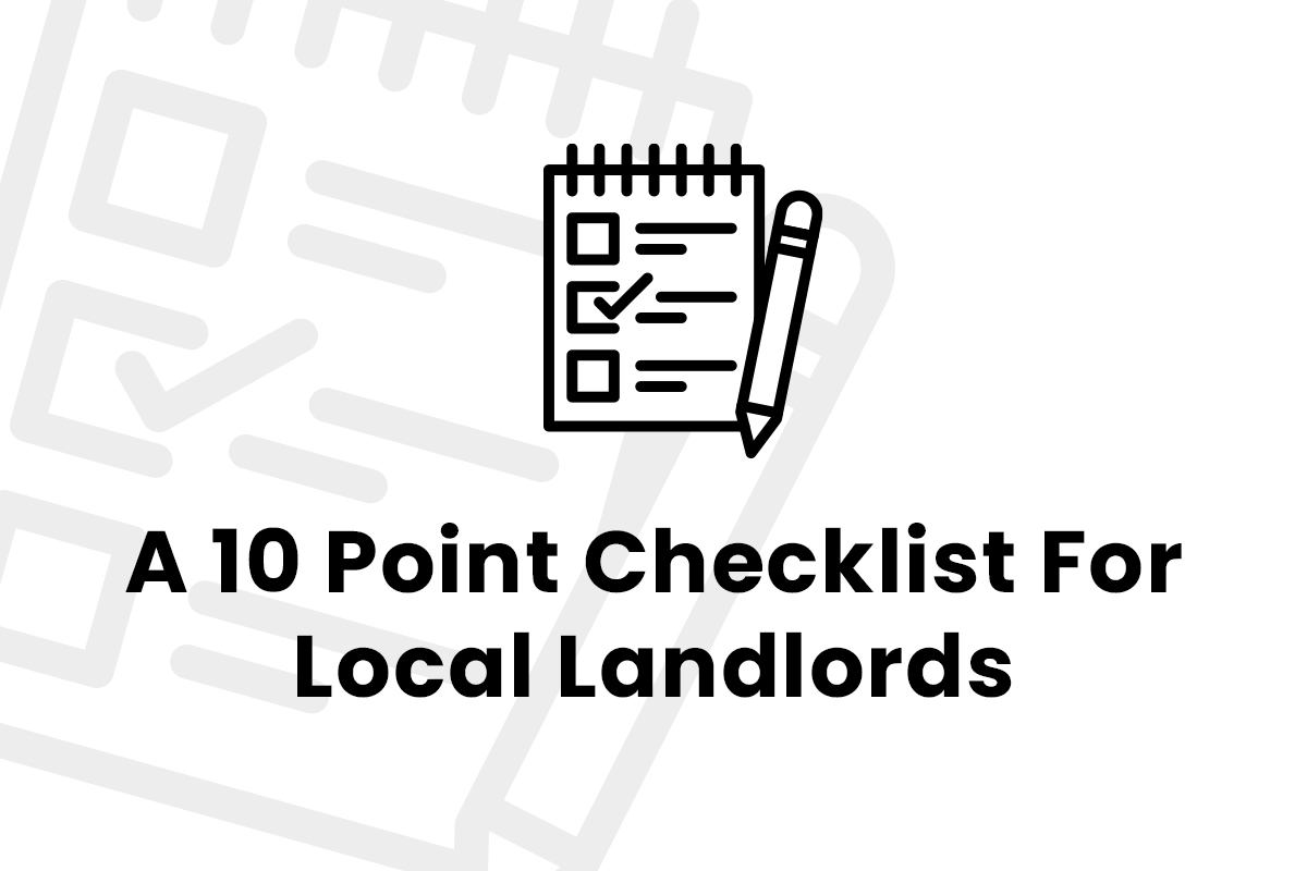 A Ten-Point Checklist for Landlords in Brighton and Hove